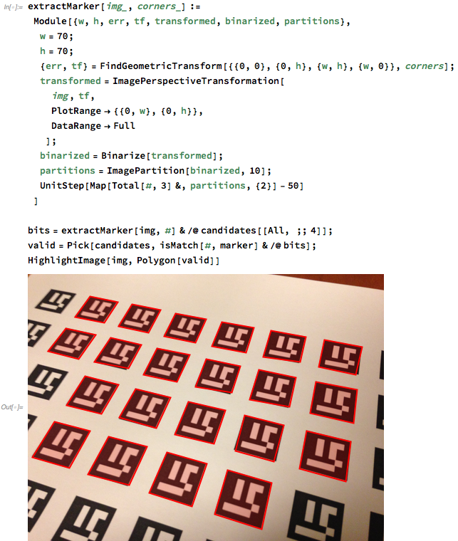 Aruco marker detection – Wolfram Language Reviews